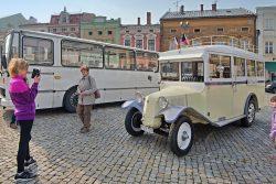 Elektrobusy předány, vyrazily do ulic / fotogalerie / 5 - staré busy