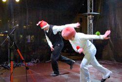 Velká fotoreportáž z vánočních trhů v Hranicích / fotogalerie / Taneční Vánoce 2.12. 2017 - vystoupení stepařské skupiny Sester Hlavinkových, foto: Jiří Necid