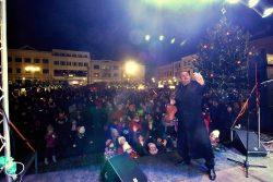 Velká fotoreportáž z vánočních trhů v Hranicích / fotogalerie / Veselé Vánoce 9.12. 2017 - netradiční koncert houslového virtuosa Jiřího Erlebacha, foto: Jiří Necid