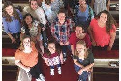 Koncert amerického dívčího sboru / fotogalerie / Plakát - Cecilia Ensemble - Grand Monadnock Youth Choirs