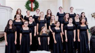 Koncert amerického dívčího sboru