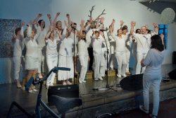 Hranická muzejní noc měla úspěch / fotogalerie / Hranická muzejní noc - vystoupení pěveckého sboru Add Gospel, foto: Jiří Necid