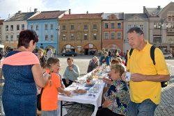 Fotoreportáž ze Dnů evropského dědictví 2018 / fotogalerie / Dny evropského dědictví - Permanent breakfast - veřejná snídaně, foto: Jiří Necid