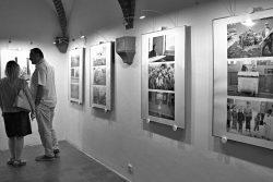 Vernisáž výstavy fotografií Oliho Helcla v muzeu / fotogalerie / Vernisáž výstavy fotografií Oliho Helcla - U.M.O., foto: Jiří Necid