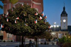 Vlajkovníky zdobí centrum Hranic / fotogalerie / Vlajkovníky v centru Hranic, foto: Jiří Necid