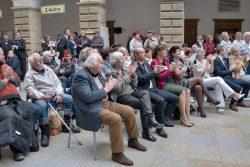 Oslavy 100 let republiky ve dvoraně hranického zámku / fotogalerie / Oslavy 100 let od vzniku samostatného československého státu, foto: Jiří Necid
