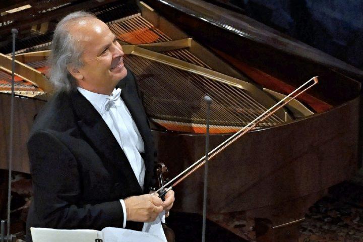Koncert Václava Hudečka opět natáčela televize