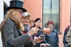 Prvorepubliková kafírna přilákala davy návštěvníků / fotogalerie / Prvorepubliková kafírna v muzeu na Staré radnici, foto: Jiří Necid
