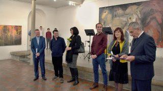 Vernisáž výstavy Tibora Červeňáka v synagoze