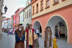 Fotoreportáž: Hraničané slavili výročí celý den / fotogalerie / Oslavy 850 let Hranic - slavnostní průvod, foto: Jiří Necid