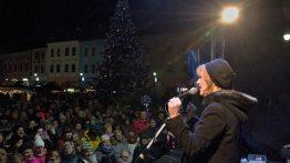 Velká fotoreportáž z rozsvícení vánoční stromu