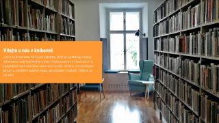 Navštivte nový, moderní a šmrncovní web knihovny