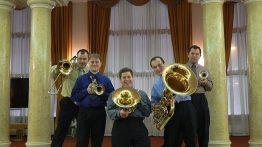 Ostrava Brass Quintet vystoupí v Hranicích