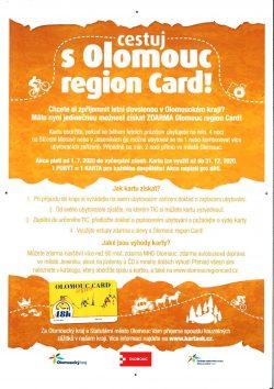 Cestujte s Olomouc region Card! / fotogalerie / Cestujte s Olomouc region Card - plakát