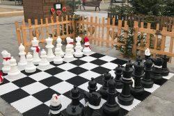 Hranice už žijí Vánocemi / fotogalerie / Vánoční šachy na Masarykově náměstí