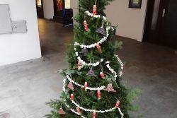 Vánoční stromky zdobí podloubí / fotogalerie / dav