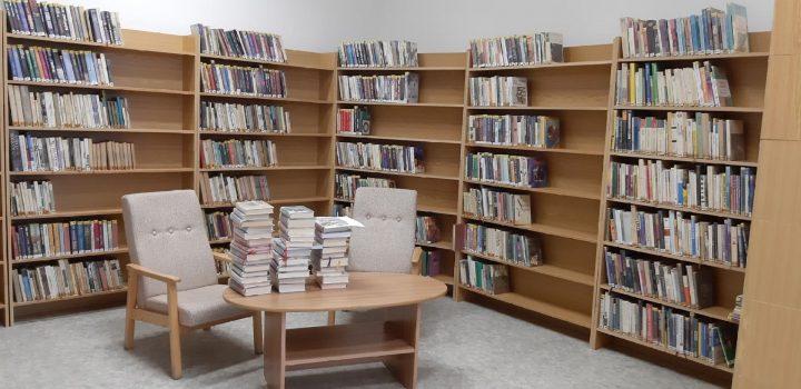 Nový háv knihovny ve Velké a program Tritius