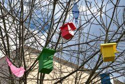 Velikonoční výzdoba zkrášluje centrum Hranic / fotogalerie / Budkovník, foto: Jiří Necid