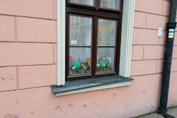 Velikonoční výzdoba zkrášluje centrum Hranic / fotogalerie / Jarní výzdoba v oknech Staré radnice, foto: Ivana Žáková