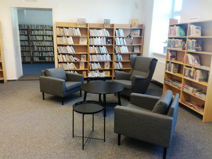 """Drahotušská knihovna se stala """"obývákem"""""""