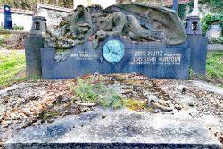 Po stopách továrníka Antonína Kunze / fotogalerie / Rodinná hrobka Kunzovy rodiny na hřbitově u Kostelíčka, foto: Kateřina Macháňová