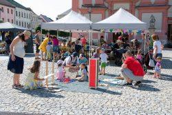 Oslavy města ve velké fotoreportáži / fotogalerie / Mobilní stolní hry na Masarykově náměstí, foto: Jiří Necid