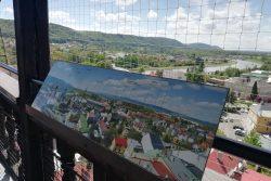 Zdolejte 122 schodů a Hranice máte jako na dlani / fotogalerie / Panoramatická tabulka, foto: Kateřina Macháňová