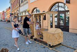 Oslavy města ve velké fotoreportáži / fotogalerie / Z dřevěného vláčku byl děti nadšené, foto: Jiří Necid