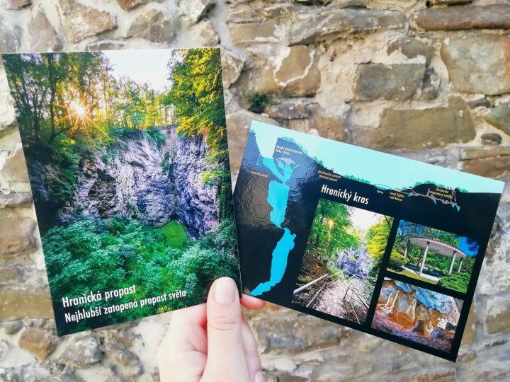 Unikátní Hranická propast má nové pohlednice