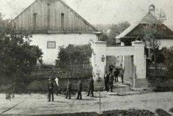 Vydejte se po stopách Josefa H. A. Gallaše / fotogalerie / Gallašův dům na přelomu 19. a 20. století. Zdroj: sbírka Milana Králika